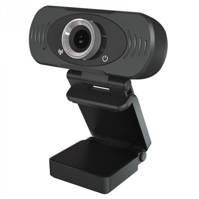 Camera web Xiaomi Imilab W88S Full HD, conexiune USB, microfon incorporat, negru