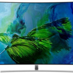 Televizor QLED Samsung 139cm (55inch) QE55Q8CAM, Ultra HD 4K, Smart TV, Ecran Curbat, WiFi, CI+