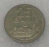 G5. ROMANIA 25 BANI 1966, 3.38 g, Ni Clad Steel, 22 mm **