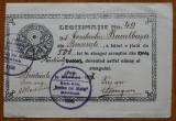 Legitimatie scriitor C. Bacalbasa , Societatea Arcasilor Stefan cel Mare , 1927