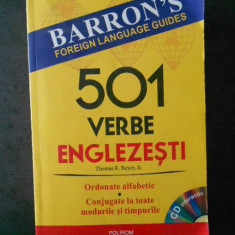 THOMAS R. BEYER - 501 VERBE ENGLEZESTI (contine cd)
