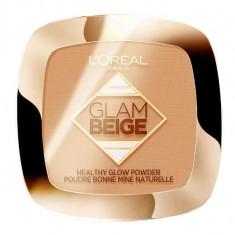 Pudra Bronzanta L Oreal Paris Glam Beige Healthy Glow Powder Light Clair 9 g