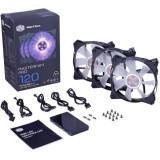 Ventilator pentru carcasa Cooler Master MasterFan Pro 120 AF RGB AIRFLOW Pack