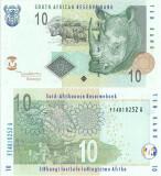 2005 , 10 rand ( P-128a ) - Africa de Sud - stare UNC