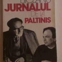 JURNALUL DE LA PALTINIS de GABRIEL LIICEANU