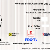 Bilete Abonament 4 day pass Neversea 2019