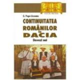 Continuitatea romanilor in Dacia. Dovezi noi - G. Popa-Lisseanu