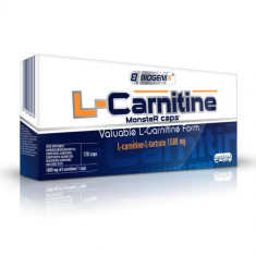 BIOGENIX Health and Nutrition L-Carnitine Monster caps, 1500 mg, 120 capsule