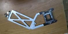iMac A1312 MC814LLA Mid 2011 27 Genuine Desktop Heatsink Bracket 806-1451 #11024 foto