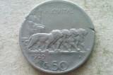 MONEDA 50 CENTESIMI 1920-ITALIA, Europa