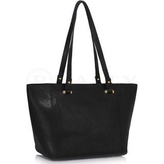 L&S Fashion LS00497 geanta pe umar neagra foto