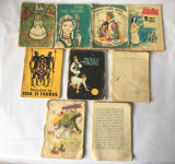 Lot 6 carticele colectia Traista cu povesti, Ed Tineretului, anii 60, colectie