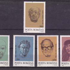 ROMANIA  1995  LP 1395  PERSONALITATI  ROMANESTI  DIN DIASPORA  SERIE  MNH, Nestampilat