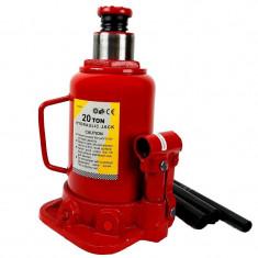 Cric hidraulic tip butelie cu capacitatea de 20 tone profil jos