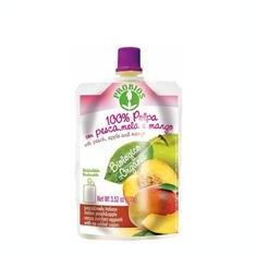 Piure Bio de Fructe Piersici Mere si Mango Probios 100gr Cod: 8018699021840