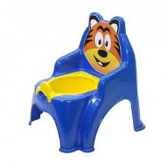 Olita pentru copii Doloni cu tigru, albastru inchis