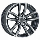 Jante BMW Seria 5 8J x 18 Inch 5X112 et30 - Mak Fahr Gun Met-mirror Face - pret / buc, 8
