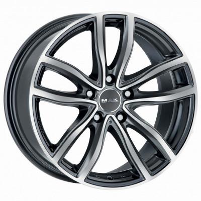 Jante BMW Seria 4 Coupe 8J x 18 Inch 5X120 et30 - Mak Fahr Gun Met-mirror Face - pret / buc foto