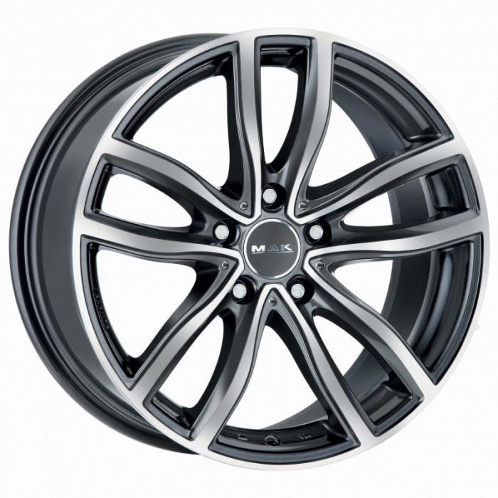 Jante BMW Z4 Staggered 8J x 18 Inch 5X120 et30 - Mak Fahr Gun Met-mirror Face - pret / buc