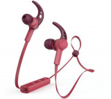 Casti Alergare Hama Connect, Bluetooth, Microfon (Rosu)