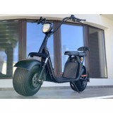 Scuter electric Harley 1500W cu baterie detaşabilă, culoare negru mat, Harley Davidson