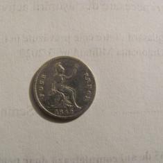 CY - 4 pence / groat 1842 Marea Britanie / argint