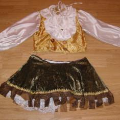 costum carnaval serbare cavalerita pentru copii de 7-8 ani