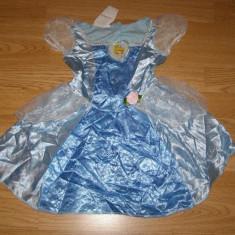 costum carnaval serbare cenusareasa pentru copii de 2-3-4 ani