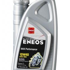 Ulei motor pentru motociclete ENEOS Max Performance 10W40 1L E.MP10W40/1