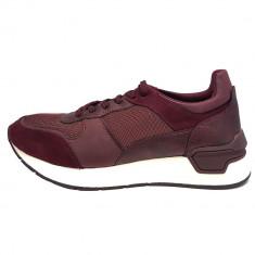 Pantofi sport dama, din piele naturala, marca Tamaris, 23706-30-10, bordo , marime: 39
