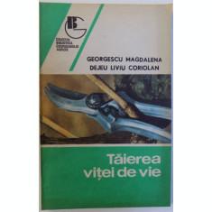 TAIEREA VITEI DE VIE DE GEORGESCU MAGDALENA SI DEJEU LIVIU CORIOLAN , 1992