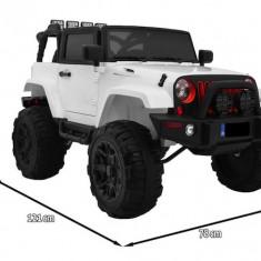 Masinuta electrica Jeep All Terrain, alb