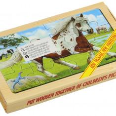 Set puzzle animale domestice II 4 buc