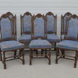 Set 7 scaune neo-baroc, 1900 - 1949