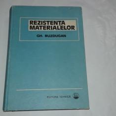 GH.BUZDUGAN - REZISTENTA MATERIALELOR
