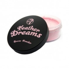 Pudra Pulbere Fixatoare W7 Feather Dreams Loose Powder Perfect Pink 20g