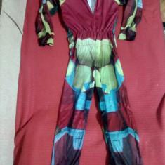 Costum IronMan cu Muschi pt Copii 4-8 ani