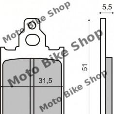 MBS Placute frana Piaggio Quartz/Zip MCB651, Cod Produs: 225100160RM