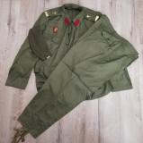 Uniforme militare kaki vara Sergent Soldat în termen perioada comunista RSR