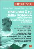 Teste Grila de limba romana ( invatamant superior ) - Catrinel Popa