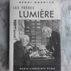 Les freres Lumiere , Henri Kubnick , 1938