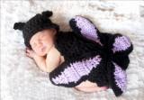 Costum bebelusi crosetat fluture sedinte foto,botez
