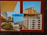 Carte postala oras GH. GHEORGHIU DEJ-Onesti, 1965, triptic, necirculata, noua