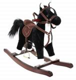 Calut Balansoar din Plus pentru copii, Sunete si Miscari interactive, 74 cm, negru, Kruzzel
