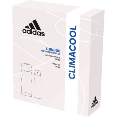 Set Adidas Climcool pentru Femei, Deodorant Spray, Gel de Dus, Deodorant Spray Adidas, Gel de Dus Adidas, Set Ingrijire Personala Femei, Deodorant pen