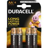 Duracell Baterie alcalina Mignon (AA,R6) 1,5V MN1500 4 buc