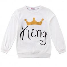 Bluza alba King