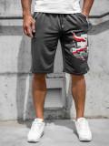 Pantaloni scurți bleumarin bărbați Bolf QN254A