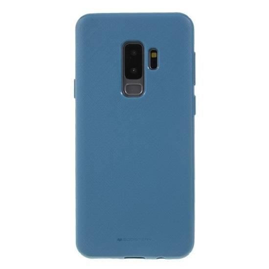 Husa Samsung Galaxy S9 Plus Goospery Style Lux Albastru