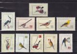 ROMANIA 1959 LP 474 PASARI CANTATOARE SI FOLOSITOARE SERIE MNH, Nestampilat